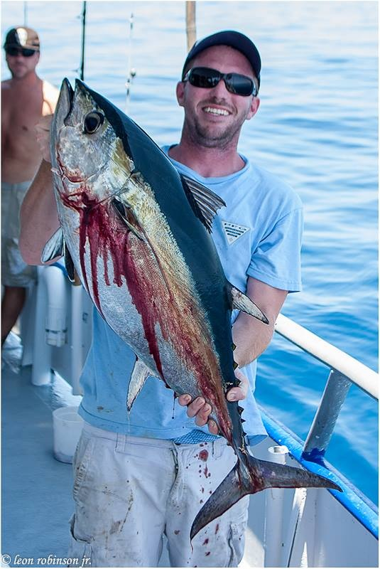 twelve hour long-rang amberjack yellowtail tuna red grouper Hubbard's Marina offshore deep