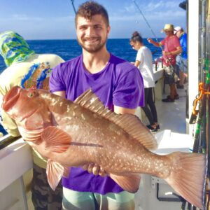 Monster Red Grouper Caught By Hubbard's Marina in Johns Pass, FL